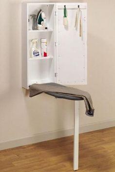 ikea wall mounted ironing board | Wall-Mounted Ironing Station %u2013 General Organization %u2013 Storage And %u2026