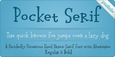 Pocket Serif Px font download