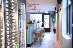 KOLONIHAGEN   Frogner, Oslo - Foodtech Lighting System, Oslo, Hygge, Restaurant Bar, Geometric Shapes, Beams, Bespoke, Mirror, Projects