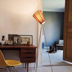 Oslo Wood lamp by Northeren Lightening Wood Lamps, Office Interiors, Midcentury Modern, Interior Inspiration, Office Desk, Corner Desk, New Homes, Mid Century, Woodworking