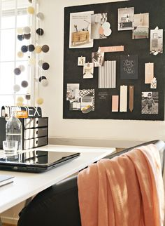 My ideal home – office inspiration workspaces Cool Office Space, Office Workspace, Small Office, Workspace Inspiration, Interior Inspiration, Inspiration Boards, Story Inspiration, Board Ideas, Home Office Design