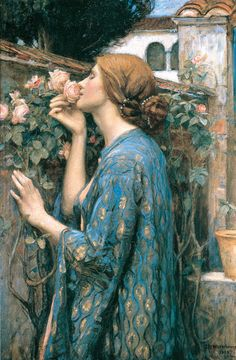My sweet rose  - Waterhouse - STAMPA SU TELA € 28,51