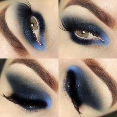 Tutorial – maquiagem rápida com máscara azul