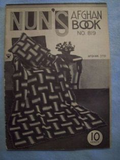 vintage crochet pattern book - #vintage #crochet from the 1930's - #craft #history