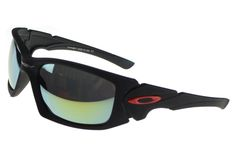 Oakley Scalpel Sunglasses Black Frame Green Lens