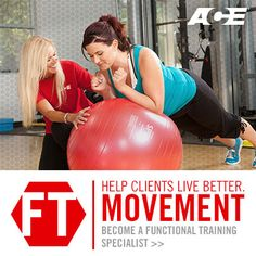 Earning a Functional Training Specialty Certification will help you develop exercise programming aimed at helping clients and patients move more efficiently and prevent injury.