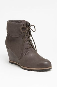 Biala 'Ashby' Collared Wedge Bootie Womens Grey Size 36 M in October Comfort Shoes 2012 from Nordstrom