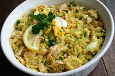 The Healthy Happy Wife: Kedgeree; Curried Fish, Rice and Egg (Dairy and Gluten Free)