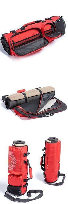 B&Y Multifunctional Yoga Mat Bag with Open Ends #yogamatbags