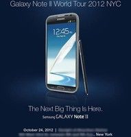 Samsung confirms Galaxy Note 2 announcement for US on October 24 at its NYC event Not that we didn't already know that the Galaxy Note 2 would be officially announced in the US on October…