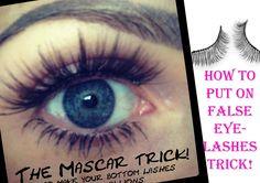 6 make up tricks to master including false eye lashes Fake Lashes, Long Lashes, False Eyelashes, Applying False Lashes, Applying Eye Makeup, Eyelash Extensions London, Eyelashes Tutorial, Eyelash Tips, Makeup Mistakes