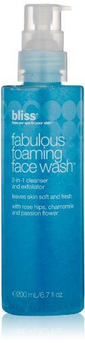 Bliss Fabulous Foaming Face Wash 67 Oz >>> Click image for more details. (Note:Amazon affiliate link)