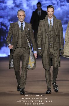 ETRO Man Autumn Winter 14-15 Fashion Show