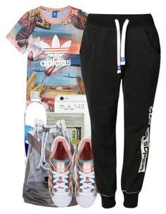 """4 - 11 -15"" by mindlesslyamazing-143 ❤ liked on Polyvore featuring mode, adidas et adidas Originals"