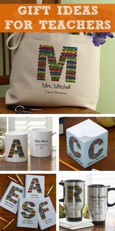 LOVE LOVE LOVE this cute Crayon design! This site has awesome teacher gift ideas - pin now and save for later!
