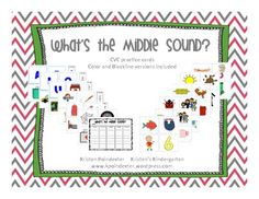 What's the Middle Sound? CVC Sorting Practice $5.00