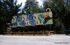 Santa's Village in Lake Arrowhead, Sept. California History, California Dreamin', Christmas Pictures, Christmas Trees, Los Angeles Hollywood, Santa's Village, I Love La, Lake Arrowhead, Ol Days