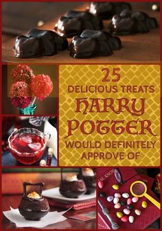 25 Delicious Treats Harry Potter Would Definitely Approve Of
