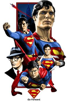 """Christopher Reeve as """"Superman"""""""