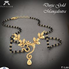 Buy gold mangalsutra for Women with different sizes, designs and online starting price RS. BIS hallmark gold and IGI certified diamond. Indian Wedding Jewelry, Bridal Jewelry, Beaded Jewelry, Silver Jewelry, Silver Ring, Hammered Silver, Indian Jewelry, Sterling Silver, Black Diamond Necklace