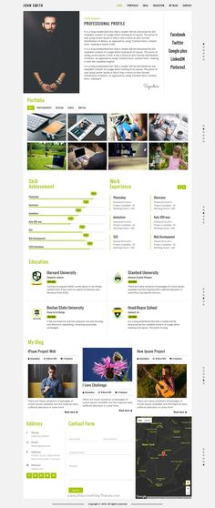 Portfolio For Resume Resuma Is A Wonderful 3In1 Responsive #wordpress Theme For #webdev .