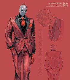 Batman #94 Character Design Variant - Jorge Jimenez