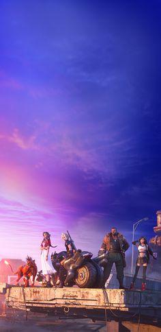 Final Fantasy Xv Wallpapers, Tifa Lockhart, Final Fantasy Vii Remake, Classic Video Games, Red Art, Cloud Strife, Fantasy World, Finals, Bioshock Infinite