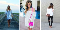 Spring is the time for bold moves with your outfits, and what is better than shoulderless tops and dresses? These are great in boho style, but also can look great in business, casual and ladylike outfits. Shoulderless is always a good option because it is comfortable andmore relaxed, especially in the warm days. Tops and […]