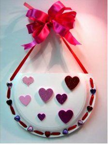 Valentine's card holder