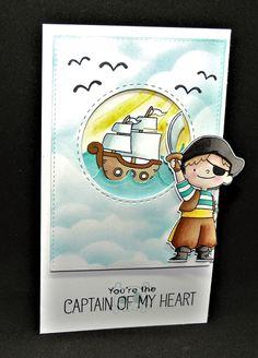 Petite carte spécial pirate ....