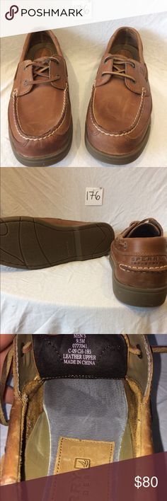 0c2ecf1ccc9b25 New without tags - Men s Leather Boat Shoes NEW leather Sperry boat shoe -  super nice high end shoes—perfect for any casual outfit or ...