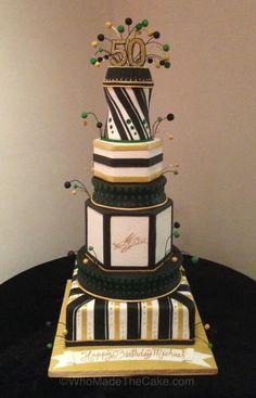 Michael Jordan's 50th Birthday Cake