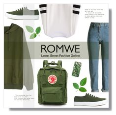 """Campus Outfit"" by nadilaamaaliaa ❤ liked on Polyvore featuring Casetify, Fjällräven and Maison Kitsuné"