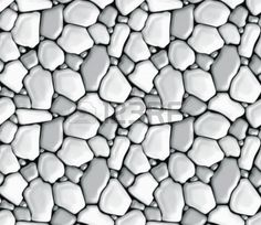 Rubble masonry, seamless