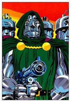 Jack Kirby - Doctor Doom - Marvel Comics