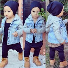 Baby Outfits, Outfits Niños, Little Boy Outfits, Toddler Boy Outfits, Cute Outfits For Kids, Toddler Boys, Boys Winter Clothes, Baby Boy Clothes Hipster, Baby Boy Swag