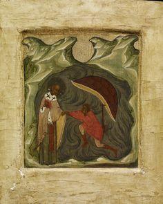 Nicholas of Myra Russian Orthodox icon Orthodox Catholic, Russian Orthodox, Russian Icons, Biblical Art, Byzantine Icons, Saint Nicholas, Orthodox Icons, Dark Ages, Sacred Art