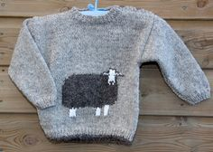 Herdwick sheep jumper