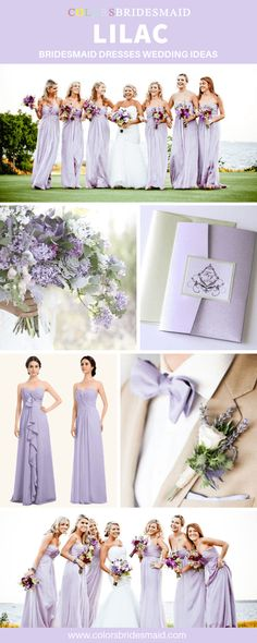 Lilac Bridesmaid Dresses Lilac bridesmaid dresses long and short in styles, under free custom, all sizes and color samples avail. Lilac Bridesmaid Dresses, Lavender Bridesmaid, Wedding Bridesmaids, Wedding Dresses, Lilac Dress Long, Lilac Wedding, Dream Wedding, 100 Free, Photos