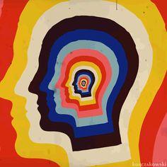 tame impala feels like we only go backwards psychedelic Arte Pop, Psychedelic Art, Psychedelic Pattern, Misaki Kawai, Anim Gif, Pop Art, Plakat Design, Hippie Art, Wall Collage
