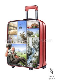Gerhard, Layout, Suitcase, Illustrator, Objects, Page Layout, Briefcase, Illustrators