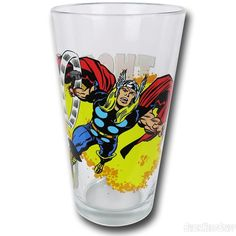 Images of Thor Hammer Swinging Clear Pint Glass