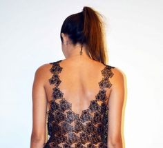 Veronica Betancur Fernández created a 3D printed garment inspired by grooved brain coral species.