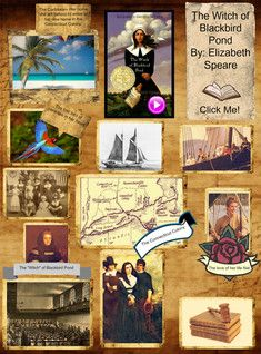 Book Report: Elizabeth Speare - The Witch of Blackbird Pond lots of covers!