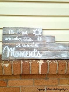 Add something rustic with a sweet wood wall art sign.