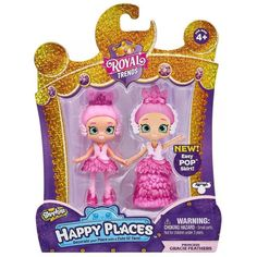 Happy Places Shopkins Royal Trends Lil' Shoppie Doll Or Pony : Target Kids Outfits Girls, Toys For Girls, Shoppies Dolls, Shopkins Happy Places, Polymer Clay Cupcake, Mermaid Tails For Kids, Toy Story Figures, Moose Toys, Royal Party