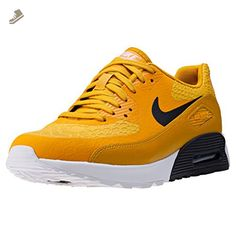 Nike Air Max 90 Ultra 2.0 Womens Trainers Gold Black - 8 UK - Nike sneakers for women (*Amazon Partner-Link)