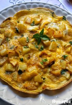 AynaGöz.: Kahvaltılık Fesleğenli, Yumurtalı Patates