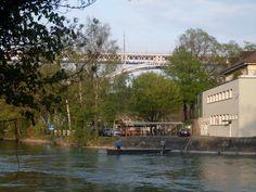 Trasporti sul fiume AAR.