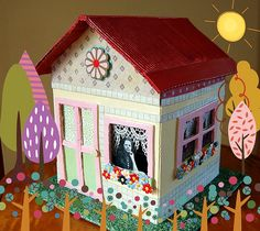 Casa de Retalhos: Casinhas ♥ Little houses